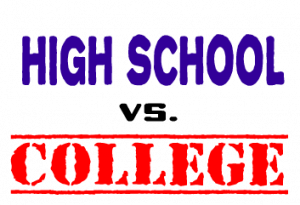 College Vs High School Is It As Tough As They Say Campusbooks Com Blog